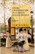 Papel GENERO Y MODERNIZACION EN LA NOVELA REALISTA ESPAÑOLA (FEMINISMOS)