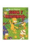 Libro Juegos Y Pasatiempos Para Dias De Sol Los Simpson
