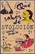 Papel QUE SABES DE EVOLUCION (BIBLIOTECA RADICAL)