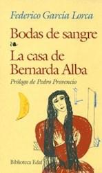 Papel Bodas De Sangre-La Casa De Bernarda Alba Eda