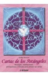 Papel CARTAS DE LOS ARCANGELES [CAJA C/ LIBRO + CARTAS] (TABLA ESMERALDA)