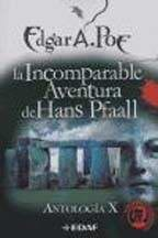 Papel Incomparable Aventura De Hans Pfaall, La. Antologia X