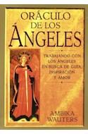 Papel ORACULO DE LOS ANGELES TRABAJANDO CON LOS ANGELES EN BUSCA DE GUIA INSPIRACION Y AMOR [CAJA]