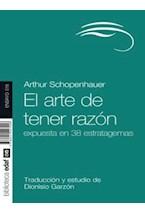 Papel EL ARTE DE TENER RAZON
