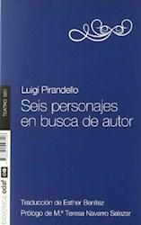 Libro Seis Personajes En Busca De Autor