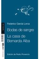 Papel BODAS DE SANGRE / CASA DE BERNARDA ALBA (COLECCION BIBLIOTECA EDAF TEATRO 040)