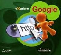 Libro Exprime Google