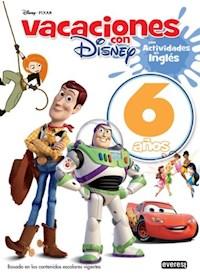 Papel Vacaciones Disney 6 A/Os Educacion Infantil