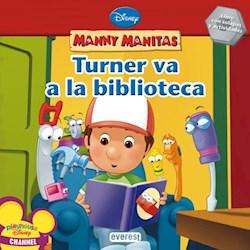 Libro Manny Manitas  Turner Va A La Biblioteca