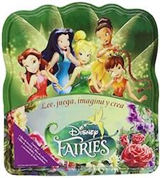 Libro Fairies Lee Juega Imagina Caja De Lata Pegatinas Actividades