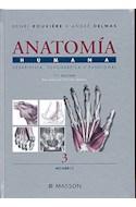 Papel ANATOMIA HUMANA DESCRIPTIVA TOPOGRAFICA Y FUNCIONAL TOMO 3 MIEMBROS (11 EDICION) (CARTONE)