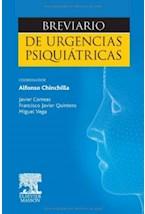 Papel BREVIARIO DE URGENCIAS PSIQUIATRICAS