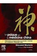 Papel PSIQUE EN LA MEDICINA CHINA TRATAMIENTO DE DESARMONIAS  EMOCIONALES Y MENTALES CON ACUPUNTU