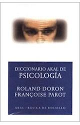 Papel DICCIONARIO AKAL DE PSICOLOGIA