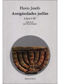 Papel Antiguedades Judias I-Ii (Lote)