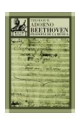 Papel BEETHOVEN FILOSOFIA DE LA MUSICA