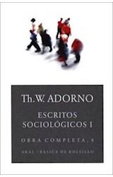 Papel OBRA COMPLETA 8 ESCRITOS SOCIOLOGICOS I