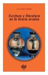 Papel ESCRITURA Y LITERATURA EN LA GRECIA ARCAICA (R) (2004)