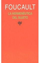 Papel HERMENEUTICA DEL SUJETO. CURSO DEL COLLEGE DE FRANCE (198, L