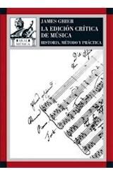 Papel LA EDICION CRITICA DE MUSICA