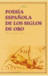 Papel POESIA ESPAÑOLA DE LOS SIGLOS DE ORO