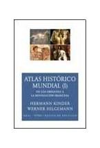 Papel ATLAS HISTORICO MUNDIAL (I) DE LOS ORIGENES A LA REVOLUCION