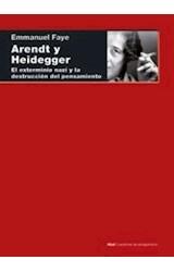Papel ARENDT Y HEIDEGGER