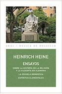 Papel ENSAYOS. SOBRE LA HISTORIA DE LA RELIGIÓN Y LA FILOSOFÍA EN ALEMANIA