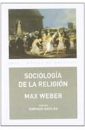 Papel SOCIOLOGIA DE LA RELIGION (COLECCION BASICA DE BOLSILLO) (RUSTICA)
