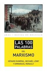 Papel LAS 100 PALABRAS DEL MARXIISMO