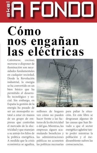 Papel Cómo Nos Engañan Las Eléctricas