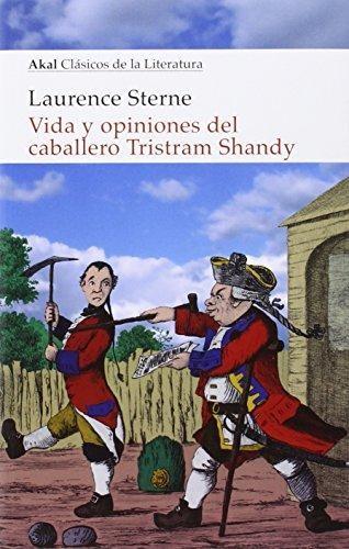Papel Vida Y Opiniones Del Caballero Tristram Shandy