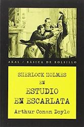 Libro Sherlock Holmes En Estudio Escarlata