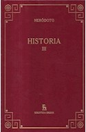 Papel HISTORIA III (BIBLIOTECA GREDOS) (CARTONE)