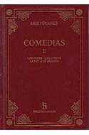 Papel COMEDIAS II (BIBLIOTECA GREDOS) (CARTONE)