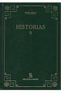 Papel HISTORIAS II [POLIBIO] (BIBLIOTECA GREDOS) (CARTONE)