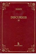 Papel DISCURSOS III (BIBLIOTECA GREDOS) (CARTONE)