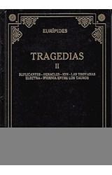 Papel TRAGEDIAS II [EURIPIDES] (BIBLIOTECA GREDOS) (CARTONE)