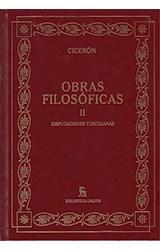 Papel OBRAS FILOSOFICAS II [CICERON] (BIBLIOTECA GREDOS) (CARTONE)