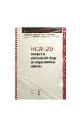Papel HCR-20 - Guia para la valoración del riesgo de comportamientos violentos + Bloc protocolos de 25 hojas