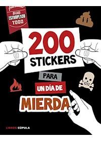 Papel Mas De 200 Stickers Para Un Dia De Mierda
