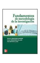Papel FUNDAMENTOS DE METODOLOGIA DE LA INVESTIGACION