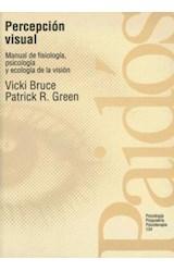 Papel PERCEPCION VISUAL-MANUAL DE FISIOLOGIA,PSICOLOGIA Y ECOLOGIA