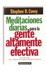 Papel MEDITACIONES DIARIAS PARA LA GENTE ALTAMENTE EFECTIVA