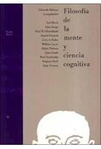 Papel FILOSOFIA DE LA MENTE Y CIENCIA COGNITIVA