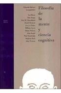 Papel FILOSOFIA DE LA MENTE Y CIENCIA COGNITIVA (PAIDOS BASICA 32072)
