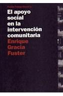 Papel APOYO SOCIAL EN LA INTERVENCION COMUNITARIA (TRABAJO SOCIAL 69001)