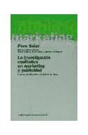 Papel INVESTIGACION CUALITATIVA EN MARKETING Y PUBLICIDAD (PAPELES DE COMUNICACION 55012)