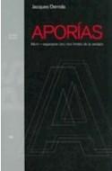 Papel APORIAS MORIR ESPERARSE (EN) LOS LIMITES DE LA VERDAD (STUDIO 31122)