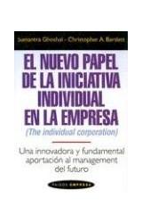 Papel NUEVO PAPEL DE LA INICIATIVA INDIVIDUAL EN LA EMPRESA (PAIDOS EMPRESA 46059)